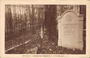 USA Grave of Theodore Roosevelt Oyster Bay 01.73