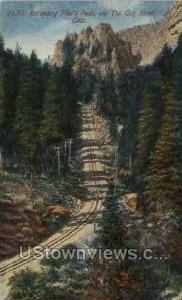 Pikes Peak via The Cog Road