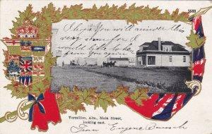 VERMILION ,  Alberta, Canada, 1907 ; Main Street Looking East