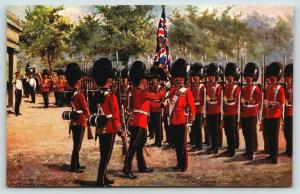 Harry Payne~London Military~Grenadier Guards Saluting the Colours~TUCK Oilette