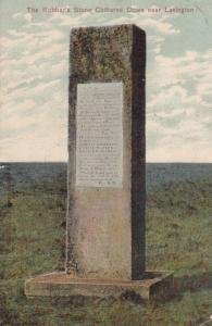 Lavington Highway Robbers Stone Lincolnshire Antique Postcard