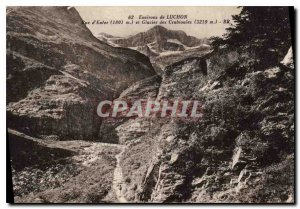Postcard Old Surroundings of Luchon Hell Street and Glacier Crabioules