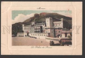 114007 MONACO Le Palais du Prince Vintage postcard