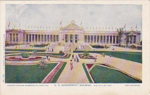 Louisiana Purchase Exposition St Louis 1904 U S Government Building