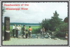 Minnesota, Itasca Headwaters of The Mississippi River - [MN-022X]