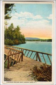 Simonson Bridge, East Caroga Lake NY