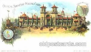 Pan American Exposition, Buffalo New York, NY 1901 Worlds Fair, Postcard Post...