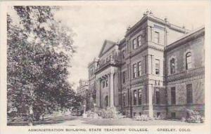 Colorado Greeley Administration Building State Teachers College Albertype