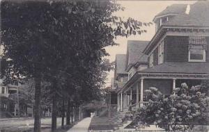 New York Gloversville View On Second Avenue 1907