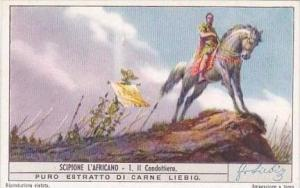 Liebig Trade Card S1406 econd Punic War Africa No 1 Il Condottiero