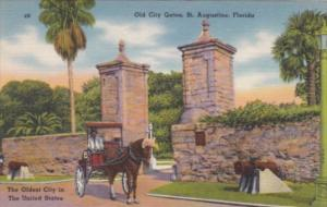 Florida St Augustine Old City Gates