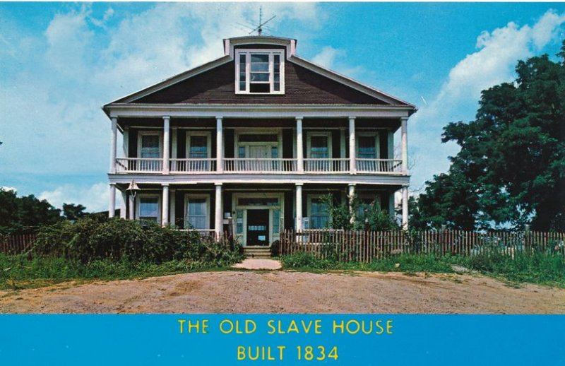Junction, Gallatin County IL, Illinois - The Old Slave House