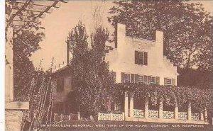 New Hampshire Cornish Saint Gaudens Memorial West View of The House Artvue