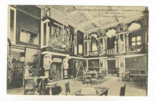 Interior, Ville d'Anvers, Exposition Internationale De Bruxelles 1910, Belgium