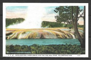 Wyoming, Yellowstone - Excelsior Pool Overflowing -- [WY-090]
