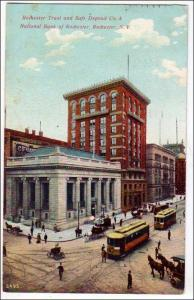 NY - Rochester. Rochester Trust & Safe Deposit Co & National Bank of