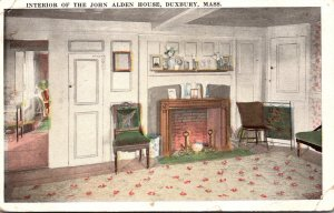 Massachusetts Duxbury John Alden House Built 1653 The Interior