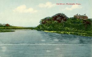 MA - Plymouth. Eel River