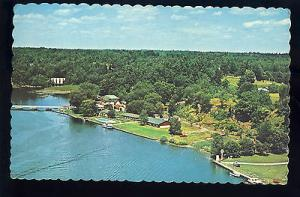 Spectacular Jones Falls, Ontario, Canada Postcard, Aerial Of Hotel Kenny, 1975!
