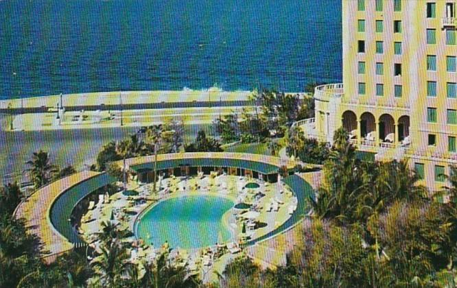 Cuba Havana Hotel Nacional De Cuba Olympic Size Swimming Pool Hippostcard