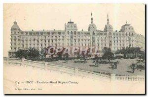 Postcard Old Nice Excelsior Hotel Regina in Cimiez