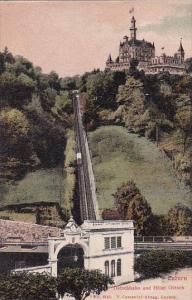 Switzerland Luzern Guetschbahn und Hotel Guetsch