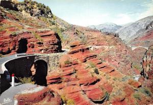 France La Route des Grandes Alpes Gorges de Daluis Tunnel et Pont du Saut