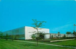 Grove Illinois~Avon Cosmetics Laboratory~1958 Postcard