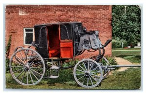 Postcard Stage Coach of Gen. Andrew Jackson 7th President of US, Hermitage TN E9