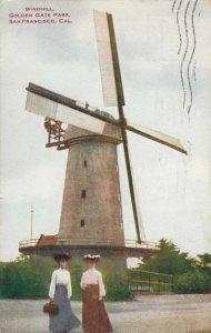 SAN FRANCISCO , California , 1909 ;  Windmill , Golden Gate Park