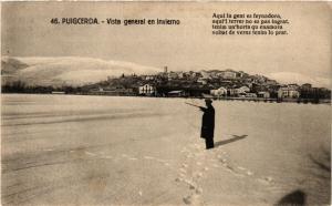CPA Espagne Puigcerda - Vista general en invierno (282244)
