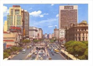 Anhangabau Avenue, Bridge, Sao Paulo, Brasil, 1950-1970