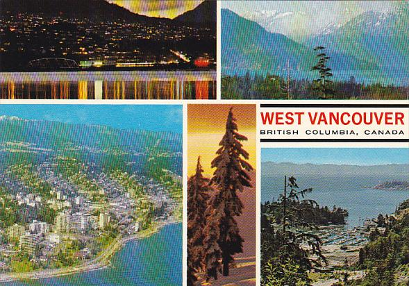 Canada Multi View West Vancouver British Columbia