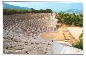 Postcard Modern Greece Epidaurus