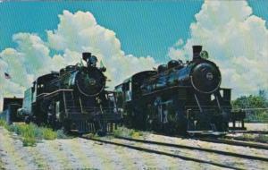 Trains Gold Coast Railroad Locomotives # 153 & 113 At Fort Lauderdale Florida