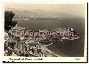 Modern Postcard Monaco Principality The Rock