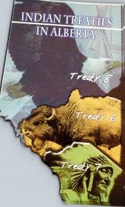 Canada Alberta Indian Treaties No 6 7 and 8