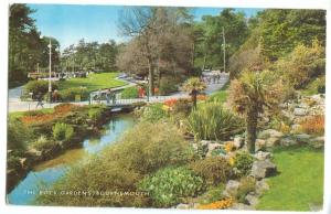 UK, The Rock Gardens, Bournemouth, 1979 used Postcard