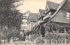 Stockton California Resident Street Scene Antique Postcard K93508