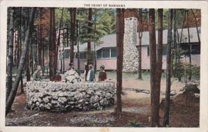 Pennsylvania Riglerville The Heart Of Nawakwa 1935