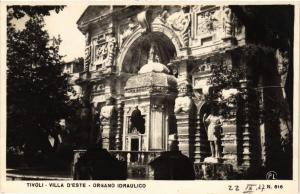 CPA TIVOLI Villa d'Este, Organo Idraulico ITALY (545981)