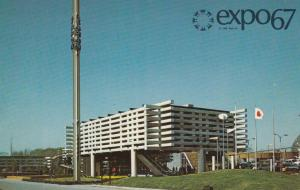 MONTREAL , Quebec, Canada, EXPO67 ; The Pavilion of Japan, showing way of life