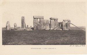 STONEHENGE , Wiltshire , England , 1900-10s ; View Looking N.