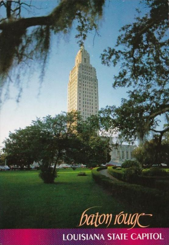 Louisiana Baton Rouge State Capitol Building
