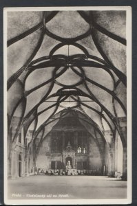 Czech Republic Postcard- Praha / Prague - The Vladislav Hall of The Castle T7435