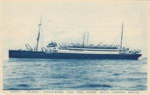 Oceanliner/Steamer/Ship, 20-30s ; R.M.S.P. ARLANZA
