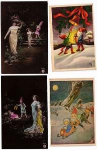 GNOMES FAIRY TALES CONTE DE FÉE 22 CPA  pre-1940