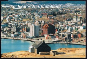Canada Newfoundland St. John's Aerial View - pm19 - Cont'l