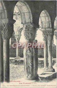 Old Postcard St Bertrand de Comminges Pillar Four Evangelists