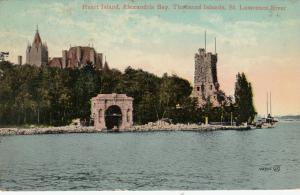 1000 ISLANDS, 1900-10s; Heart Island, Alexandria Bay, St. Lawrence River